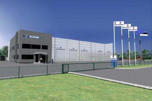Rakvere-Scania-keskus--Rakvere